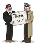 GF tribute| Thank you by iLee-Font