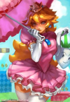 Peach redesign by JimboBox