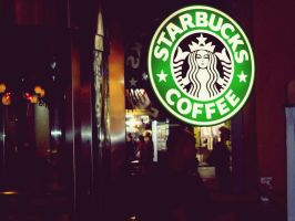 Starbucks by Mualike