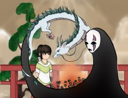 Spirited Away by gaara-lover-9
