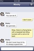 A Conversation with Masky 1 by AkatsukiBlackmail13