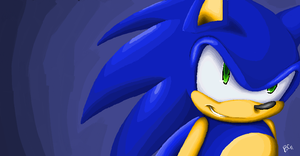 Sonic :Paint: by Mitzy-Chan