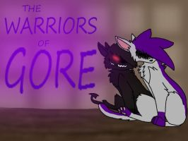 the warriors of gore cover 1 by Neko-longtail