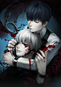 Kaneki selfcest by Monsohot
