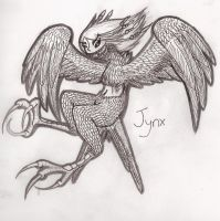 Jynx the harpy by PeaceArt79