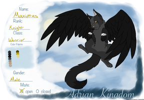 [CoE] Maximus - Adrian Kingdom by Warrior-Heart127