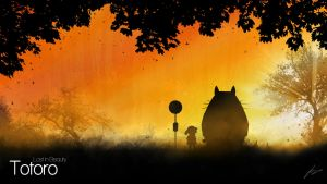 Totoro - Lost in Beauty by Lucsy3012