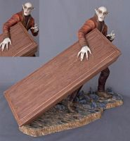 Nosferatu Paint by BLACKPLAGUE1348