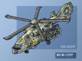 Mi-217PP - XHC-305PP by TheXHS