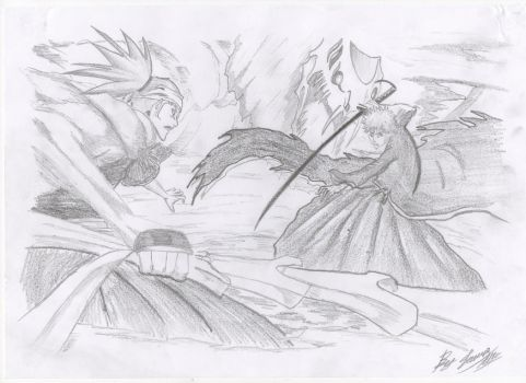 Renji vs Ichigo by Jamezzz92