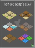 Game Art :: Isometric Ground Textures by faerieoak