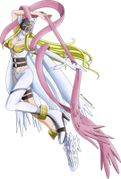 Angewomon (Render) by LadyHeinstein