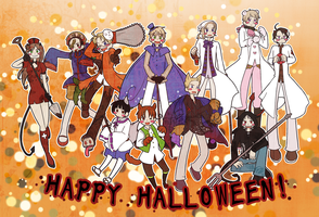 HAPPY HALLOWEEN by aster-lili