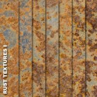 Rust Textures I by quansie