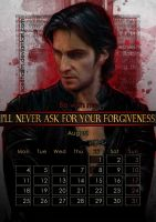 Geek Calendar 2014: August by Sceith-A
