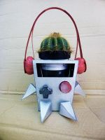 Noma the Cactus Robot! by ObeseRhino