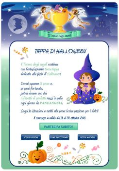 Layout concorso Halloween Paneangeli by FIBI15