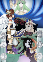 Kid Icarus: Uprising by TwilightMoon1996