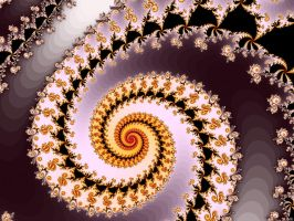 DecoratedBudSpiral by FractalMonster