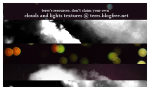 Clouds and Light Textures set by Ninamarja