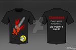 Chainsaw T-Shirt by RoboMonkey03