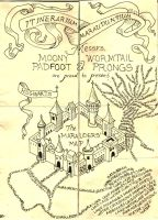 Home Made Marauder's Map by MyRisenShadow