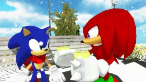MMD Sonic: Need some company? by Trouble-san