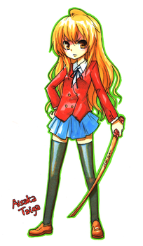 Taiga in Markers by NickBeja