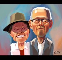 My Japanese Grandparents by Zureul