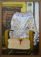 Portrait of a Rocking Chair by wundercookie