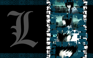.L rain wallpaper. by Ishisu