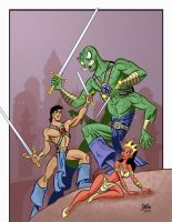John Carter, Warlord of Mars by jerrycarr