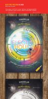 HOUSE ELECTRO FLYER by firmacomdesign