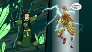 Azula is Breaking the Rules by chara89