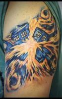 OH GOD! NOT THE TARDIS! by TaylorHarmon