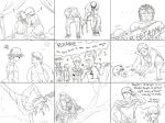 2015 9 Topics -uncolored- by BleachcakeCosplay