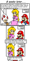 cake in the oven 4 by Nintendrawer