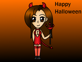 Happy Halloween Everyone by QueenSilvia95