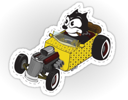 Felix the Cat and the Magic Rat (Rod) by Mehdals