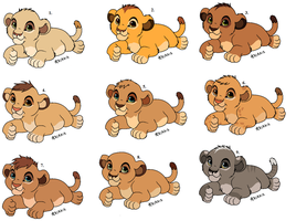 Cub adopts (CLOSED) by Lummiki