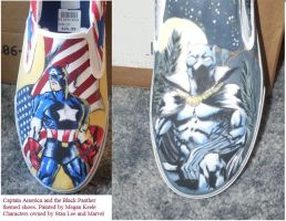 Marvel Shoes by megtoes