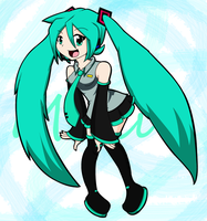 Miku Hatsune by MegantheHedgehog1516
