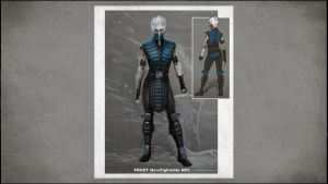 MKX Frost Sketches 1 by FrostMKFan