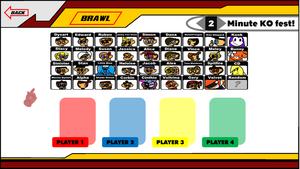 SSBC - Character Select by ETSChannel