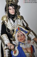 Trinity Blood couple by Sana-Kuja-cosplay