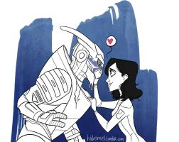 No Shepard without Vakarian by HidroMiel