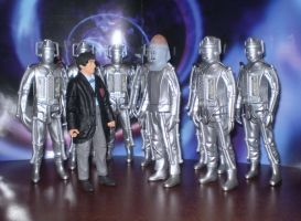 2nd Doctor and Cybermen by CyberDrone