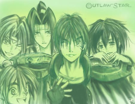 Outlaw Star- for Olsie by viperxmns