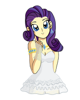 Rarity cute by reina-del-caos