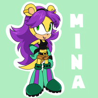 MINA by AwesomeBlossomPossum